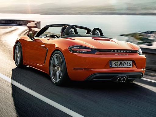 For the sport of it. The new 718 Boxster.